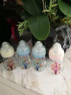 Mam glass bottles for sale 6oz