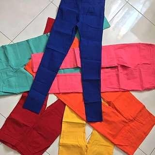 Preloved: 6 x Colortreepants Jegging