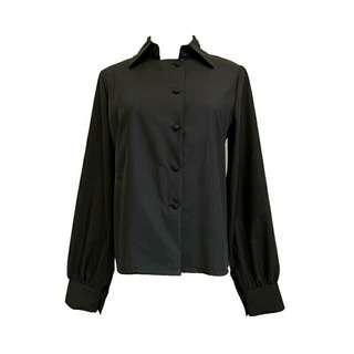 暗黑哥特風 黑色襯衫