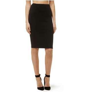 Kookai Chic Midi Skirt Black