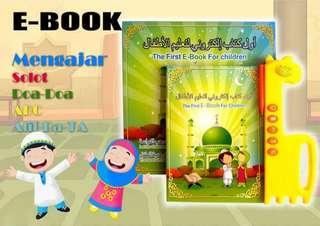 Mainan Pendidikan Islamic E-Book For Children Belajar Sholat Mengaji 3 Bahasa (JJ-23)