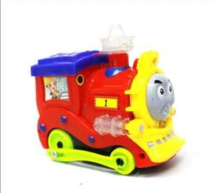 Kado Hadiah Mainan Anak Kepala Kereta Api Bo Train Happy Thomas Bump And Go (9911)