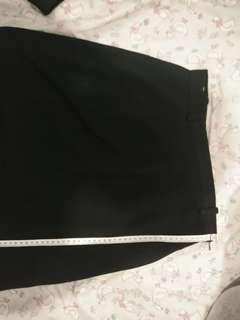 rok hitam rapi / rok kerja / rok formal