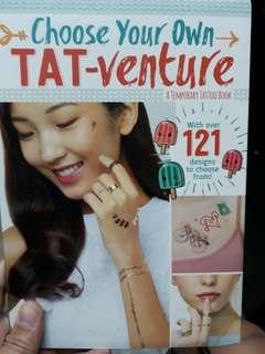 Choose Your Own Tat-venture: A Temporary Tattoo Book