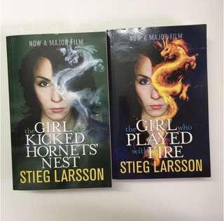 Stieg Larsson's The Girl Who Played With Fire (vol 2 + 3)