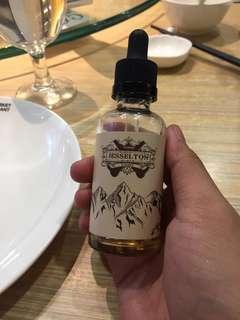 Flavour vape (Jesselton Finest E-liquid)