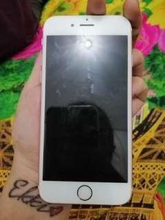 iphone 6s 64GB rose gold ex inter ( Fullset)