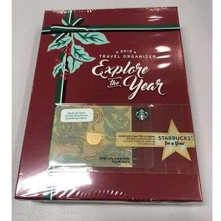 2019 Starbucks Travel Organizer