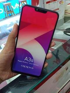 Oppo A3S Smartphone [16GB/2GB] Promo Bunga 0% Kredit Tanpa Cc