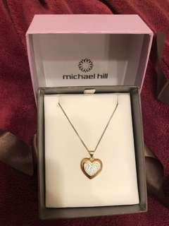 Michael Hill heart necklace