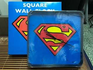 Superman掛牆鐘 購自日本