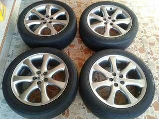 Sport Rims and Tyre