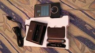 Zune player and dock pack