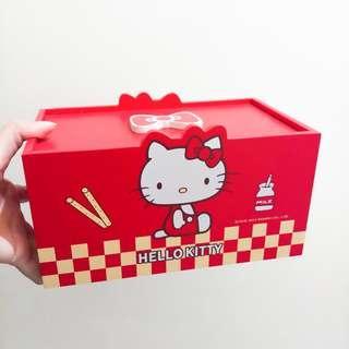 🚚 Hello Kitty造型收納木盒(實拍)