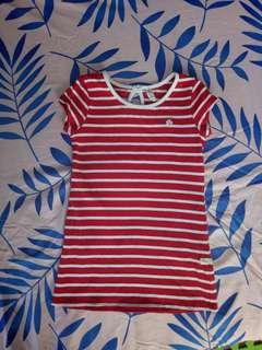 Moose girl shirt dress