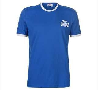 Lonsdale Ring Tshirt Blue