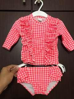 CO baby 2-piece swimwear 0-3months