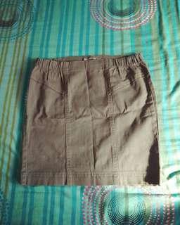 Terranova Olive Green Skirt