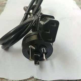 扁腳電線轉插頭