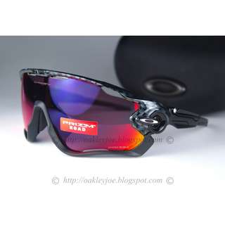 a9f2a31e44 BNIB Oakley Custom Jawbreaker carbon fiber + road prizm sunglass shades