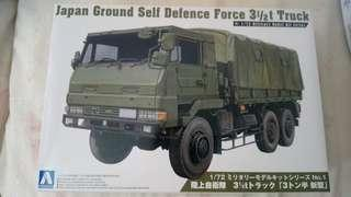 Japan Ground Self Defence Force 3 1/2t Truck 1:72