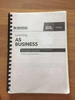 BAC alevels business textbook