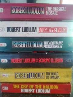 Robert Ludlum Bookbundle