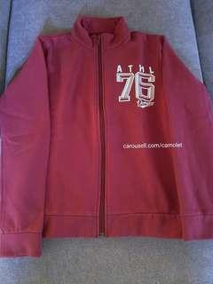 Sporty Jacket | Maroon | Red | Merah | Girls sweater