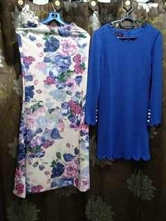 Long Blouse with Long Floral Skirt
