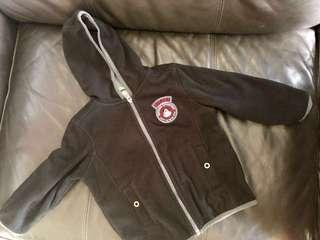 Boy's jacket with hood