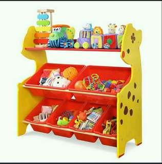 3-Tier Toy Storage Rack / Shelves
