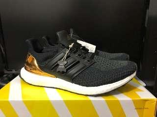US 8.5 Ultra Boost 2.0 Gold Medal Olympic Pack
