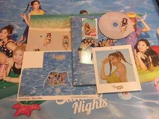 WTS TWICE SUMMER NIGHTS UNSEALED ALBUM