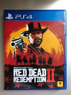 PS4 大作 Red Dead Redemption 2 中英文版 香港行貨