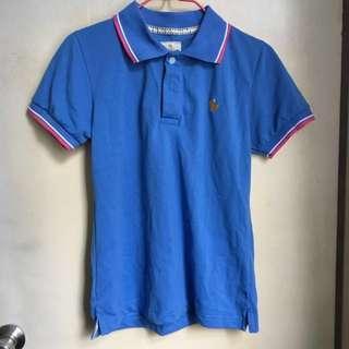 [全新泰國購入]藍色Polo T恤
