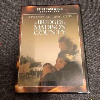 麥迪遜之橋 The Bridges of Madison County 台版中文DVD