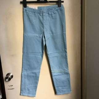 [全新]Uniqlo仿牛仔九分褲