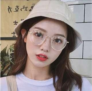 [PRE-ORDER] Unisex Hipster Style Fashion Clear Glasses