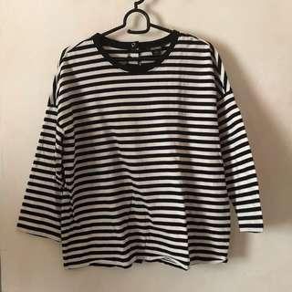 MONKI Stripes shirt
