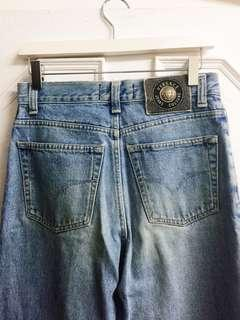 🚚 Versace Vintage Jeans 牛仔 高腰 直筒 褲