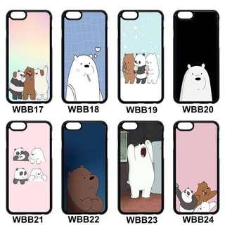 🚚 ◾️We Bare Bears Series Phone Cover(3)
