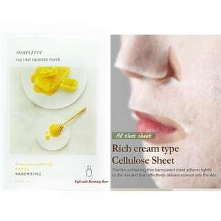Innisfree My Real Squeeze Mask Honey 20ml