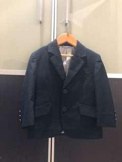 Pre loved boy black blazer Industrie brand sz 2 Y