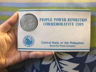 People Power Revolution Commemorative Coin