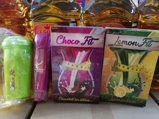 Choco Fit, Lemon Fit & Choco Lurve Lotion