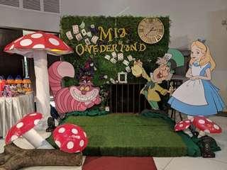 Alice in Wonderland Standees for Rent