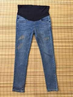 Maternity jeans 32 inches hipline