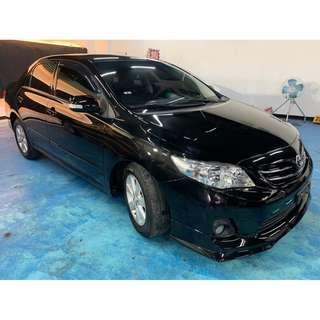 超熱門車2012年 運動版小改款Toyota Altis 1.8E  別懷疑保證實車實價保證只要22.8萬!