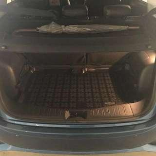 Nissan Note boot liner rubber mat