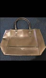 REPRICED: Guess Big Bag  Gold color